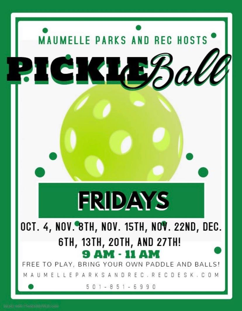 Pickle Ball Fridays 2019