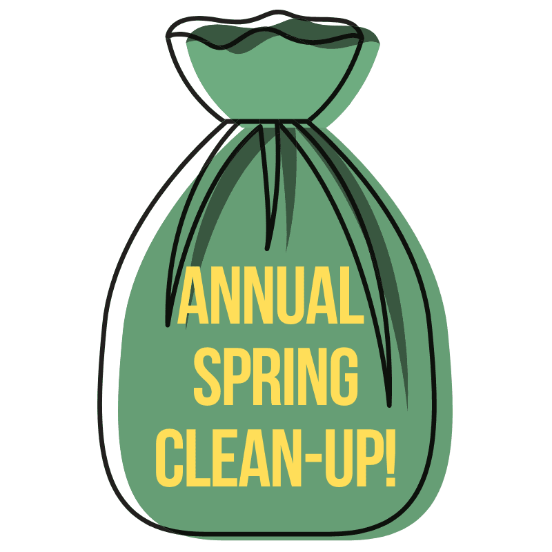 Annual Spring Clean-Up!