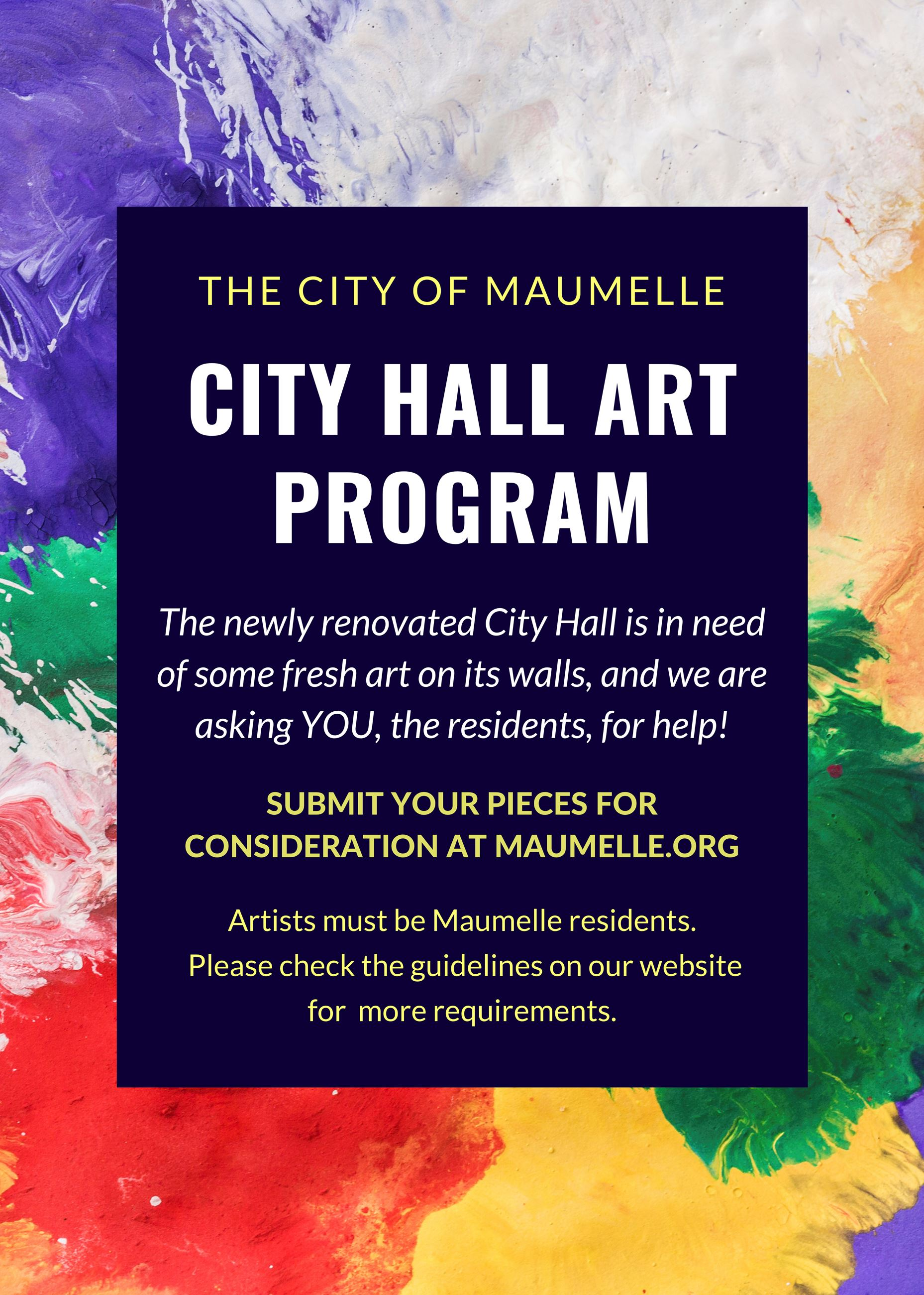 City Hall Art Program