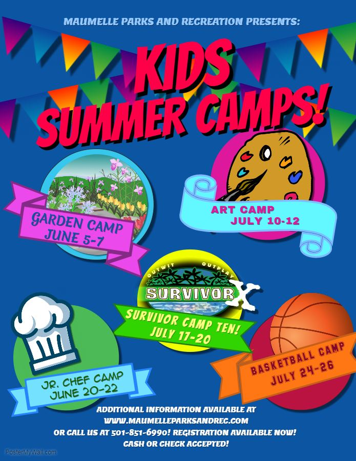 2018 SUMMER CAMP FLYER info